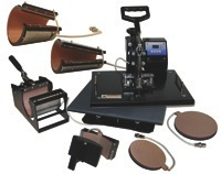 All In One Press AA802 - Comes with 8 heating elements - Make more than just mugs!