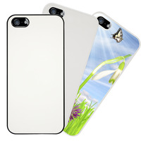 iPhone 5 - PC Cover - Black, White, or Clear - with Metal Insert