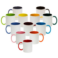 Photo USA sells high quality dye sublimation substrates and products for the promotional and advertising specialty industry including our 11oz sublimation combination colored mugs.